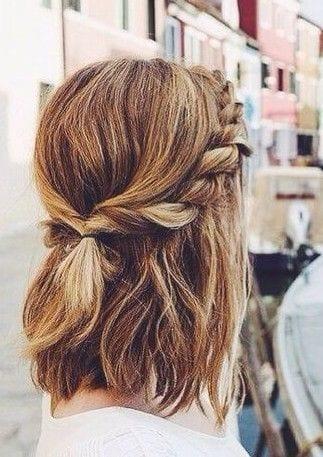 Twisted Half Ponytail Short Hair Theunstitchd Women S Fashion Blog
