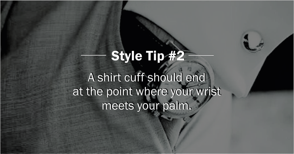 Are Your Wearing Your Shirt Properly?