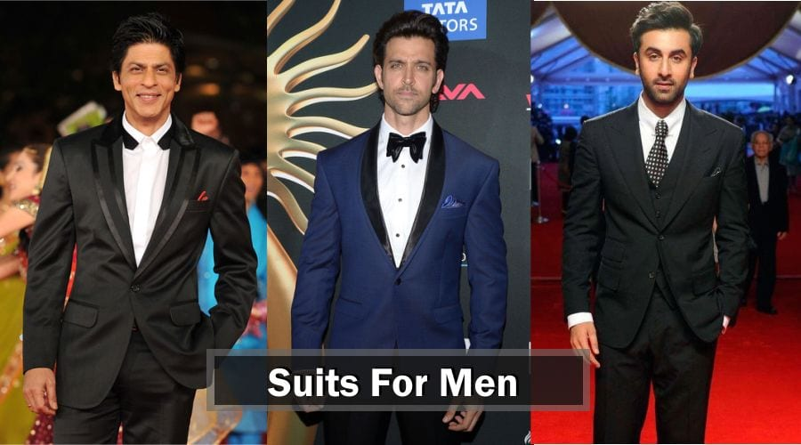 Because there's no excuse for sloppy attire –  SUITS FOR MEN