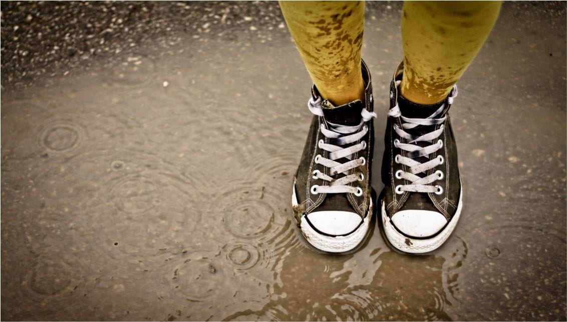 Beat The Rains With Your Shoes!