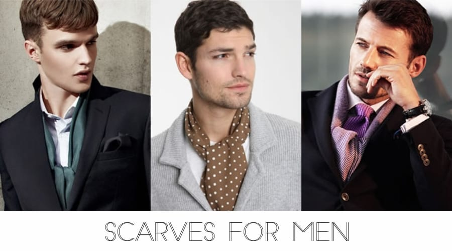 Wrap Up And Stay On Trend – Scarves For Men
