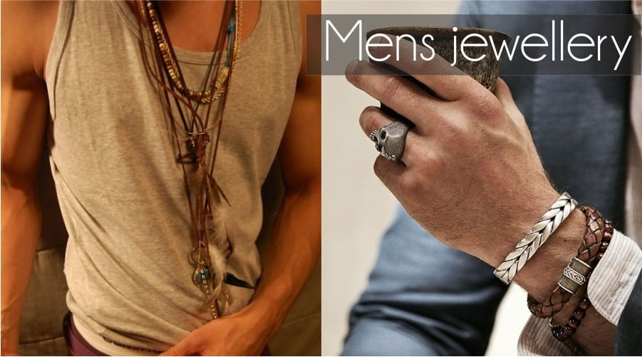 Mens jewellery – a style shift!