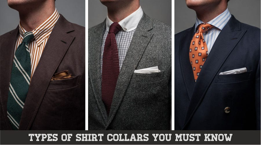 4 types of Mens Collars You must be knowing