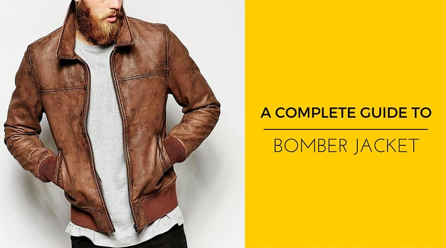 The Style-Conscious Man's Guide To Bomber Jacket