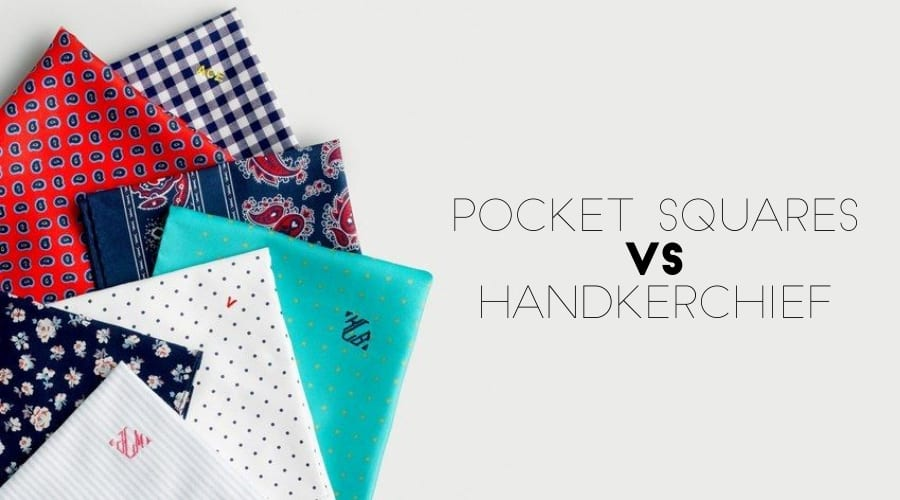 What's the difference between Pocket squares and Handkerchief