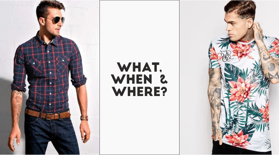 Shirts or T-shirts! Whats your Choice?