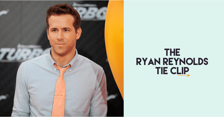 The Ryan Reynolds Tie Clip
