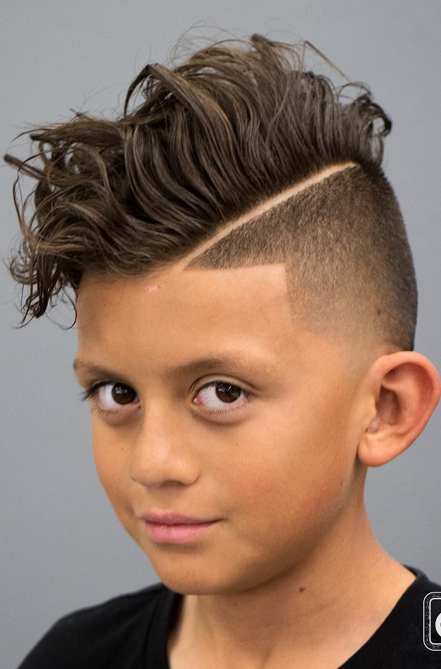 Curly hair Fade Kids Haircut for Boys ⋆ Best Fashion Blog For Men